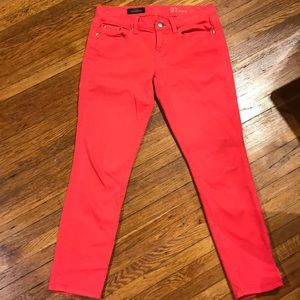 J Crew Toothpick Jeans. Size 27.